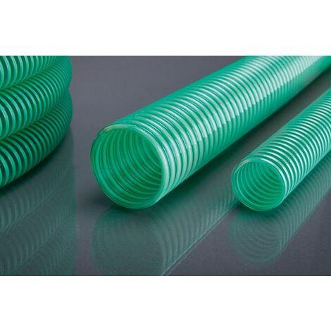 Saug-Drucksch. APDatec 10grün/transp. 25x2,5mm 50m