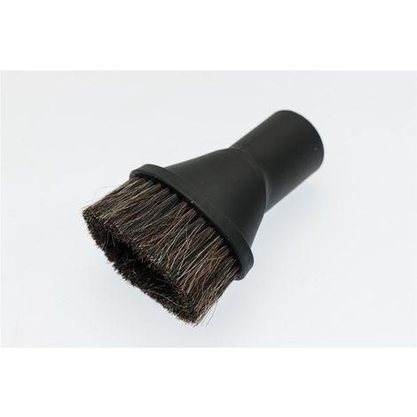 Ø 35mm Staubsaugeraufsatz Staubsaugerpinsel Saugpinsel Naturhaar für Staubsauger