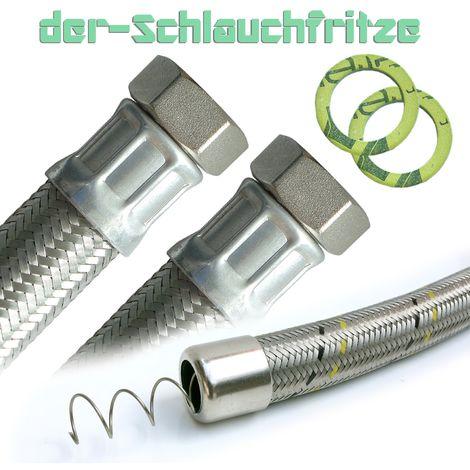"""Saugschlauch 1""""ÜM x 1""""ÜM, Pumpenschlauch, Druckschlauch 30cm / 300mm"""