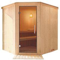 Sauna finlandese tradizionale TUULA da 2 posti