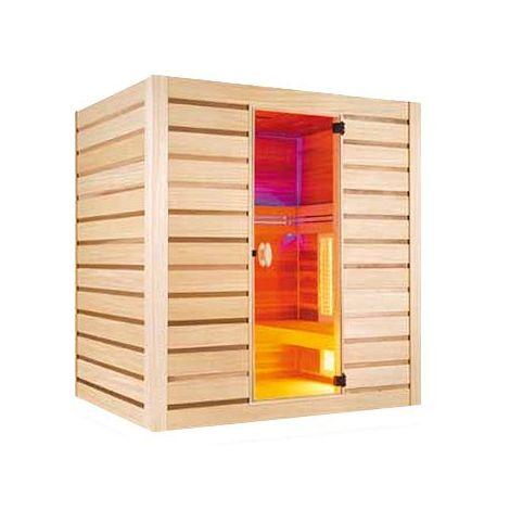 Sauna hybride combi de HOLL'S