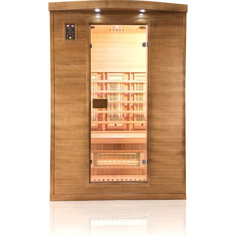Sauna infrarouge 2 places Spectra - France Sauna