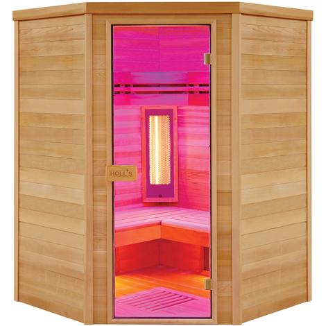 Sauna de infrarrojos, una cabina estética