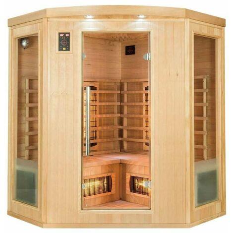 Sauna infrarouge cabine 3-4 places APOLLON 2280W