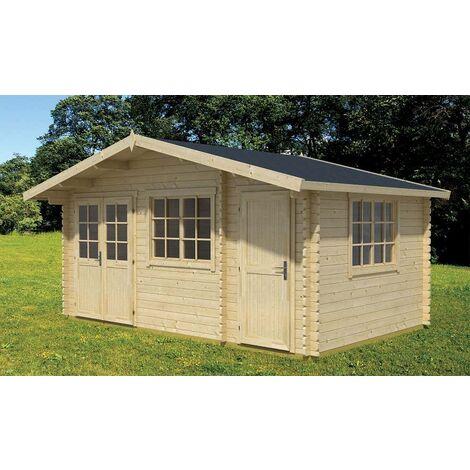 Sauna Innenkabine Modell 4 Erle