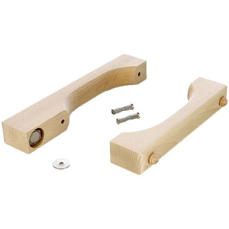 Sauna Türgriff Set Magnet für Sauna Glastüren
