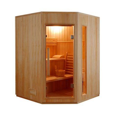 Sauna ZEN 3 places angulaire