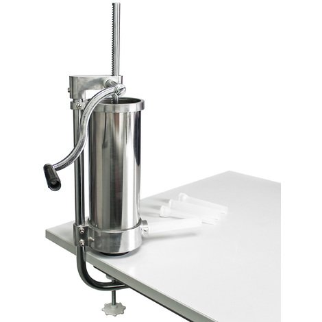 Sausage stuffing machine with 3,5 l capacity for sausage meat