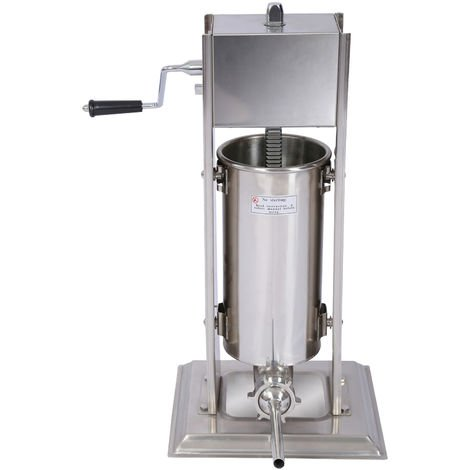 Sausage stuffing machine with 5 l capacity for sausage meat