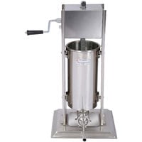 Sausage stuffing machine with 7 l capacity for sausage meat