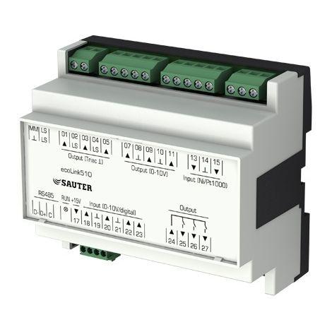 Sauter EY-EM511F001 Remote I/O module ecoLinks511 - 24VAC - 0,5A