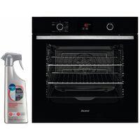 SAUTER FOUR pyrolyse encastrable noir 73L MULTIFONCTION 7 modes de cuisson
