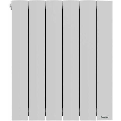 SAUTER Radiateur électrique a inertie fluide Orosi - Detecteur fenetre ouverte et présence - Programmable - 1000 W