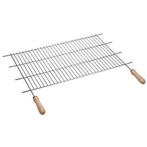 Sauvic 02758 Grille de Barbecue Inoxydable avec Manches Bois