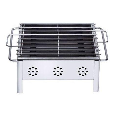 Sauvic 02908 Barbecue de table Inox 18/8-25 cm x 20 cm