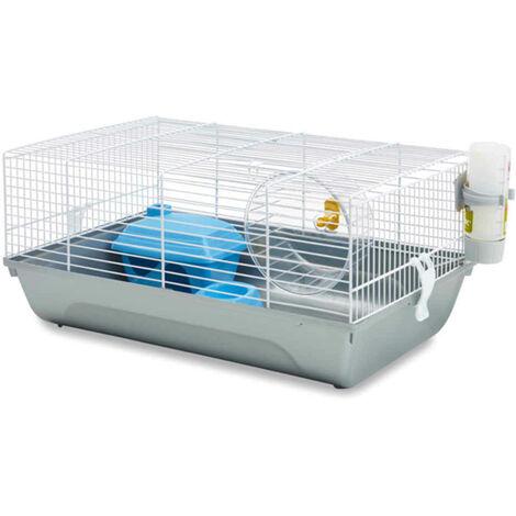 Savic - Cage Martha Blanche pour Hamster - 46,5x29,5x21cm