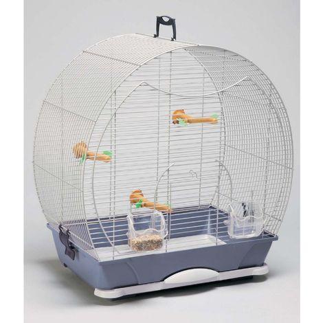 Savic Evelyne 30 Bird Cage (43x28x47cm) (Silver)