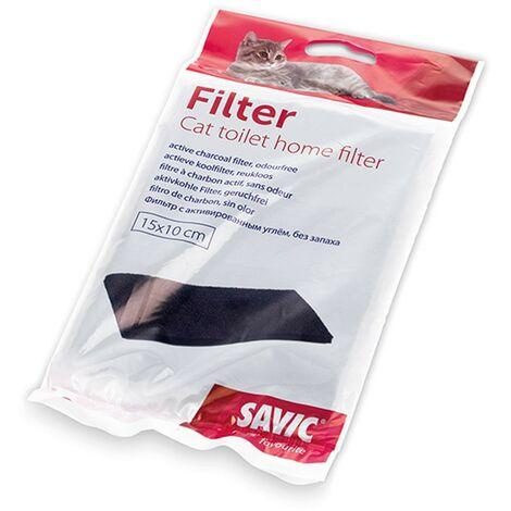 Savic filtre sablière | Filtre pour bac à litière pour chats | Odeur filtre pour bac à sable