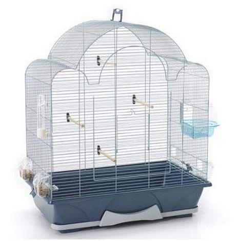 Savic Melodie 50 Bird Cage (64 x 38 x 73cm) (Silver)