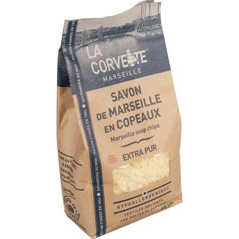 Copeaux de savon de Marseille La Corvette - 750 g - Beige
