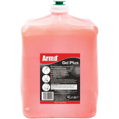 Savon gel solvanté microbilles, la cartouche de 4l