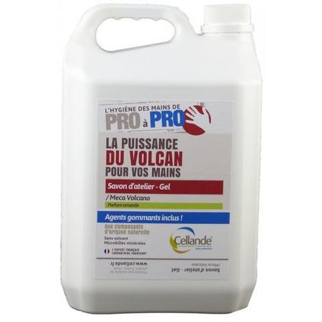 Savon microbille CELLANDE Méca-Volcano - Bidon 5L - 663058CELCE