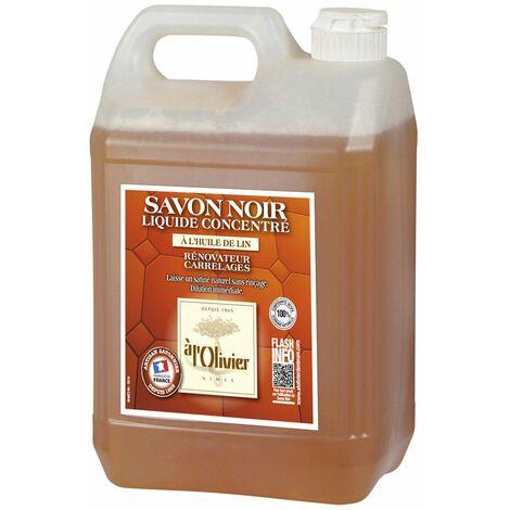 Savon noir à l'olivier Liquide 5 litres - A L'OLIVIER