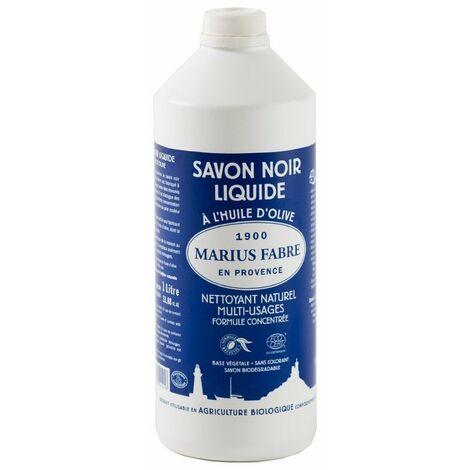 Savon Noir Liquide 1l - MARIUS FABRE
