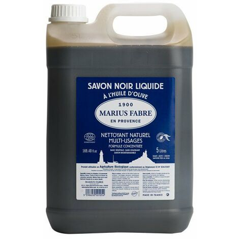 Savon Noir Liquide 5l - MARIUS FABRE