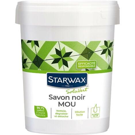 """main image of """"Savon noir mou à l'huile de lin 1kg STARWAX"""""""