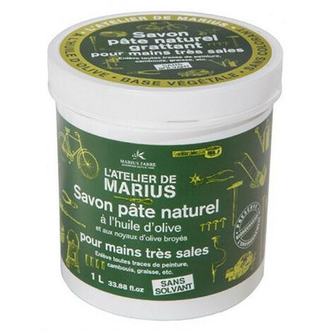 Savon Pâte Naturel Grattant à l'Huile d'Olive Pot 1L