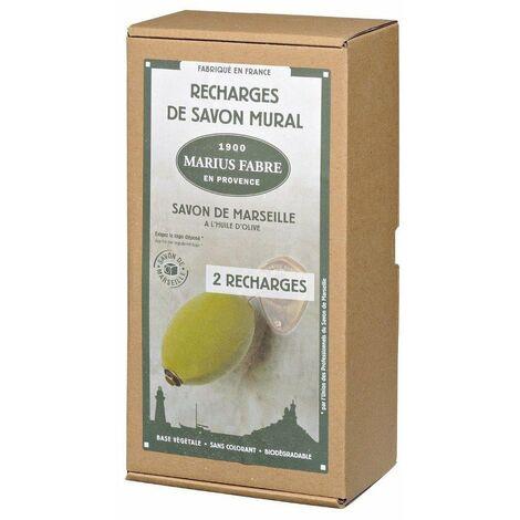 Savon Rotatif Recharge 2x290g - MARIUS FABRE
