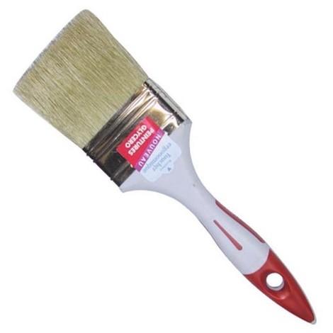SAVY - Pinceau plat spécial peinture glycéro - 80 mm