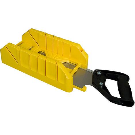 Stanley STA119800 Saw Storage Mitre Box with Saw