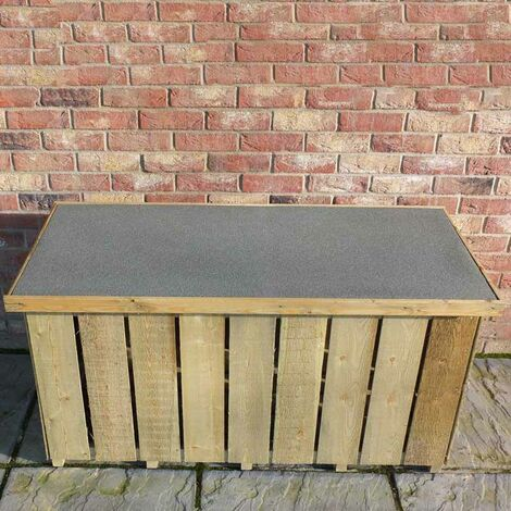 """Sawn 4' 2"""" x 1' 10"""" Pressure Treated Log Box"""