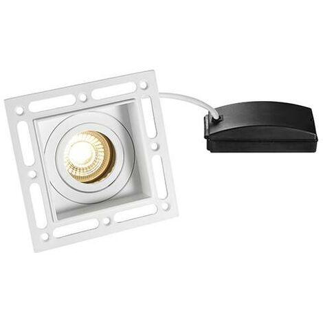 Saxby Trimless Downlight - LED Recessed Trimless Downlight Matt White