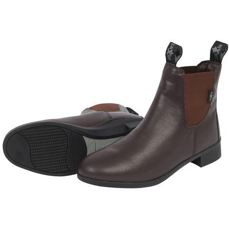 Saxon Unisex Syntovia Jodhpur Boots