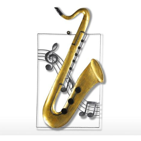Saxophone Ornament Decor Musical Instrument Craft Gift