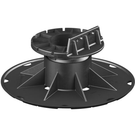 SB 3 Adjustable pedestal support for raised floor (50-80 mm) with fixed head for decking (any joist type)