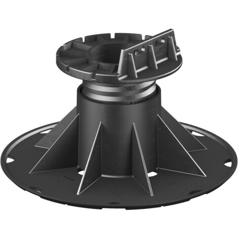 SB 4 Adjustable pedestal support for raised floor (70-120 mm) with fixed head for decking (any joist type)