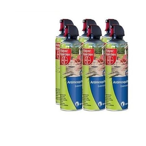 SBM Insecticida contra mosquitos de uso en exteriores BAYER 3000 ml (6 x 500ml)