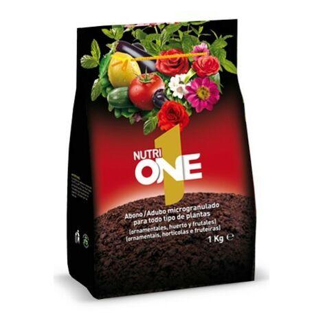 SBM Nutrione Abono microgranulado concentrado para plantas. Fertilizante premium 1Kg