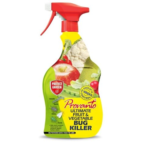 SBM Provanto Ultimate Fruit and Vegetable Bug Killer - 1 Litre Spray Bottle