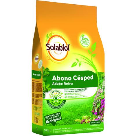 SBM - Solabiol Abono orgánico cesped saco 5Kg