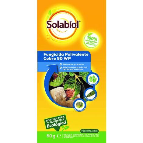 SBM - Solabiol Fungicida Polivalente de cobre huerta 50gr