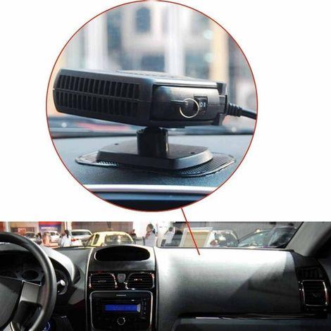 Sbrinatore Auto 12V 150W 2 in 1 Riscaldatore per Auto Demister Sbrinatore Ventilatore Veicolo Riscaldamento Automatico Demiste Rotazione di 360/° FLYEER Riscaldamento Auto 12V