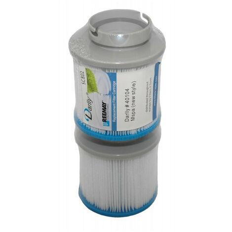 SC802 Darlly Spa-Filter (zwei Filter)