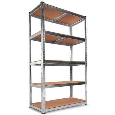Scaffali magazzino scaffalatura pesanti scaffale officina scaffalatura Cantina Scaffale scaffale 875 kg UE