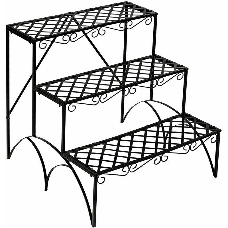Scaffale per piante a 3 piani - scaffale porta piante ...