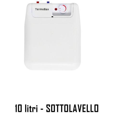 Scaldabagno Elettrico Verticale ISEA 10LT SottoLavello Boiler Scalda Acqua Calda